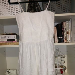 White Old Navy Jumpsuit